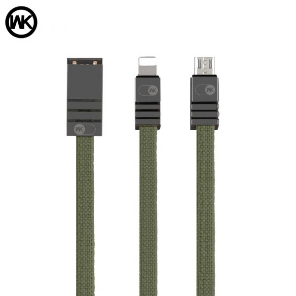 Remax WK DESIGN WDC-049 excessive Bolt Cable For Micro USB